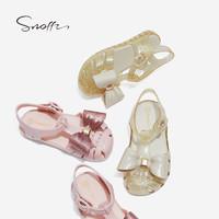 Snoffy 斯纳菲 女童软底凉鞋