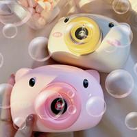 活石 儿童玩具电动相机泡泡机+电池+螺丝刀+绳子+泡泡液
