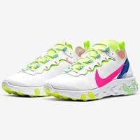 NIKE 耐克 REACT ELEMENT 55 PRM 女子运动鞋