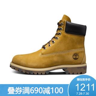 Timberland添柏岚男徒步休闲鞋迷彩潮牌经典防水鞋靴|6717B 6717BW/小麦色 41