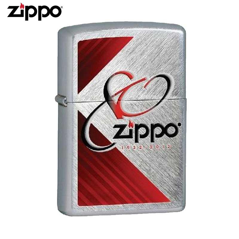 ZIPPO正版原装防风火机80周年纪念版火机芝宝打火机28192