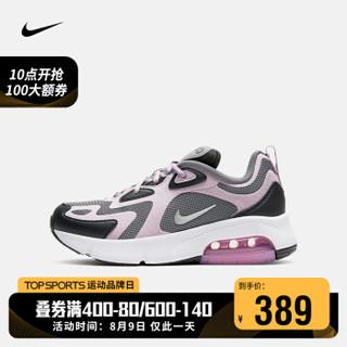 耐克 NIKE AIR MAX 200 (GS) 大童运动童鞋 AT5627 AT5627-008 37.5