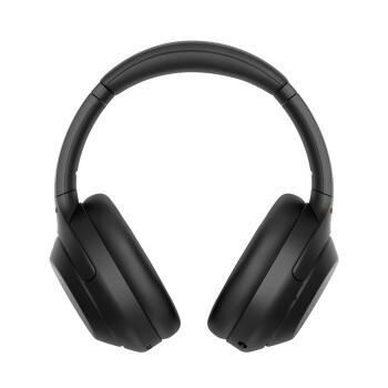 SONY 索尼 WH-1000XM4 耳罩式头戴式蓝牙降噪耳机 黑色