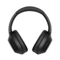 SONY 索尼 WH-1000XM4 头戴式蓝牙降噪耳机 黑色