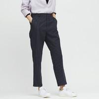 UNIQLO 优衣库 424941 麻棉窄口裤