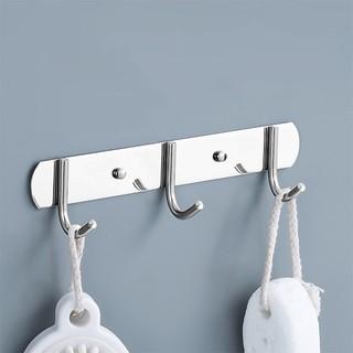 Moiidea 莫耶  不锈钢厨房浴室挂钩 3钩款