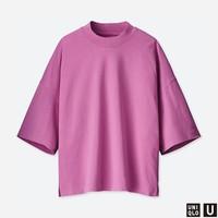 女装 宽松T恤(五分袖) 415797