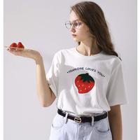 TOYOUTH 初语 8020131007 女士短袖T恤