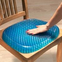 米良品 创意蜂窝凝胶坐垫