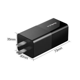 联想ThinkPad type-c口红电源65W手机平板笔记本适配器X280T480E480L480 T480sE580X390T490(黑色) *3件