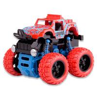 酷伴乐 惯性四驱越野车儿童抗耐摔玩具车男孩模型车2-3-4-5岁宝宝小汽车 颜色随机一个