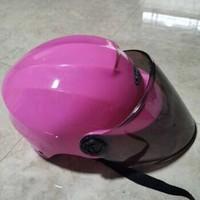 奥柏特 电瓶摩托车头盔 粉色