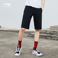 LI-NING 李宁 AKSQ417 男士运动短裤