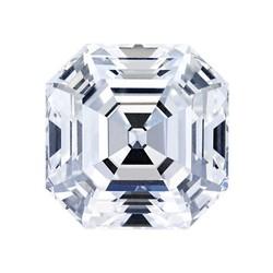 Blue Nile 0.53克拉 阿斯彻形钻石(非常好切工、E级成色、SI1净度)