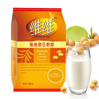 维维 维他型 经典营养早餐 速溶代餐粉 即食冲饮豆奶粉 360g *16件