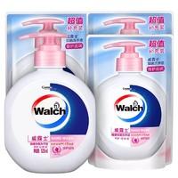 Walch 威露士 健康抑菌洗手液 525ml+ 补充装250ml*3袋