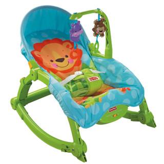 京东PLUS会员 : Fisher-Price 费雪 婴幼儿摇椅 可爱动物 +凑单品