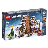 LEGO乐高益智积木玩具礼物冬季圣诞系列 姜饼屋10267
