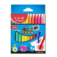 Maped 马培德 862003 塑料蜡笔 24色 *2件