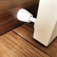 嘉洛斯 硅胶防撞门垫 吸 墙吸白色2套装
