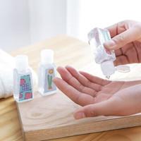 纳合 免洗洗手液30ml家用便携式随身小瓶速干酒精凝胶 随机图案4瓶