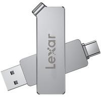 Lexar 雷克沙 D30c U盘 64GB USB 3.1 Type-C双接口闪存盘
