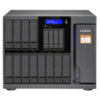 威联通(QNAP)TS-1635AX-16G十六盘位nas网络存器(HDD16T*12+SSD4T*4+M.2SSD2T*2)