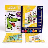 京东PLUS会员: LOGICO 逻辑狗 幼儿园早教5本+操作板+凑单品