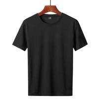独励 818-K10BK 男士纯色网眼速干T恤