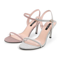 BeLLE 百丽 3CZ30BL9 女士一字带凉鞋