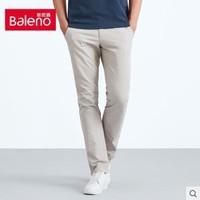 Baleno 班尼路 88612029D 男款纯棉磨毛休闲裤