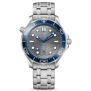 OMEGA 欧米茄 海马系列 210.30.42.20.06.001 男士自动机械潜水表