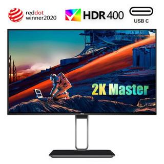 AOC 冠捷 Q27U2D 27英寸IPS显示器 (2K、HDR400、91% P3色域、65W Type-C)