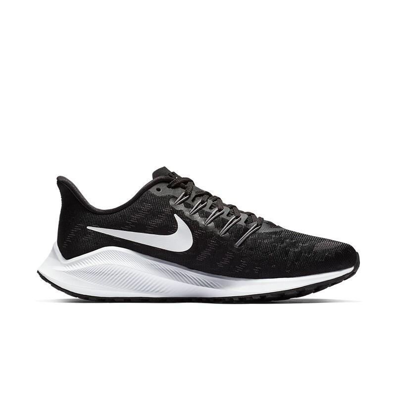 NIKE 耐克 AIR ZOOM VOMERO 14 女子跑步鞋 AH7858-010 黑色/白色 38
