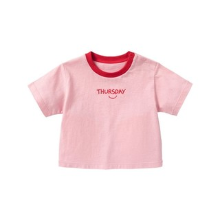 Mini Balabala 迷你巴拉巴拉 儿童纯棉短袖T恤