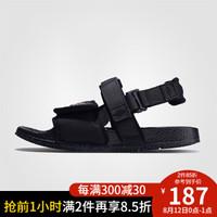 UMBRO茵宝2020年夏季新款情侣鞋男女通用舒适时尚 UI202FT0504-990黑色/红色 36 *2件