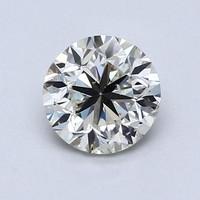 Blue Nile 1.00克拉圆形切割钻石 良好切工 K成色 SI2净度