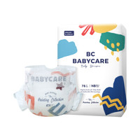 BabyCare 艺术大师系列 通用纸尿裤 NB 78片 *2件