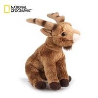 国家地理NG欧洲系列 阿尔卑斯山羊15cm 仿真动物毛绒玩具公仔亲子送女友生日礼物 *5件