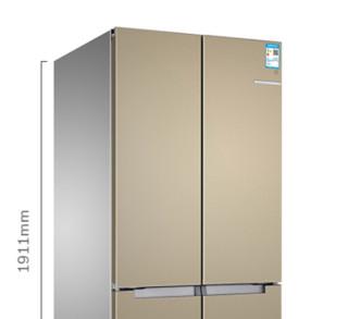 BOSCH 博世 BCD-481W(KME49AQ0TI) 481升 混冷变频 十字对开门冰箱