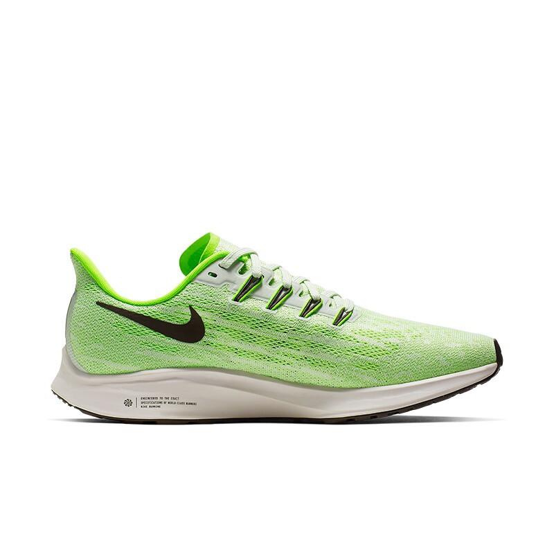 NIKE 耐克 AIR ZOOM PEGASUS 36 男子跑鞋 AQ2203-003 荧光绿/黑色 41