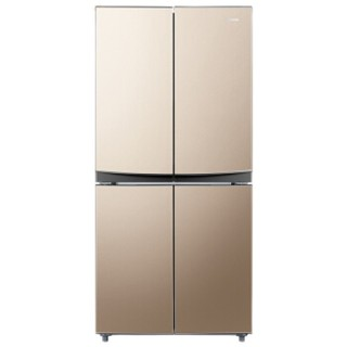 康佳(KONKA)355升 十字对开多门冰箱 家用电冰箱 超薄机身 静音节能  四们对开自营冰箱BCD-355GX4S