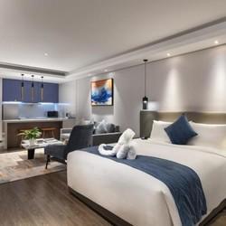 长沙西兰蒂亚服务式公寓 行政单人公寓2晚(含早餐)可拆分
