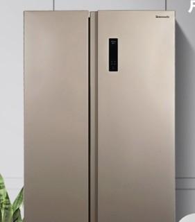 Panasonic 松下 NR-W57S1-N 对开门冰箱 570升