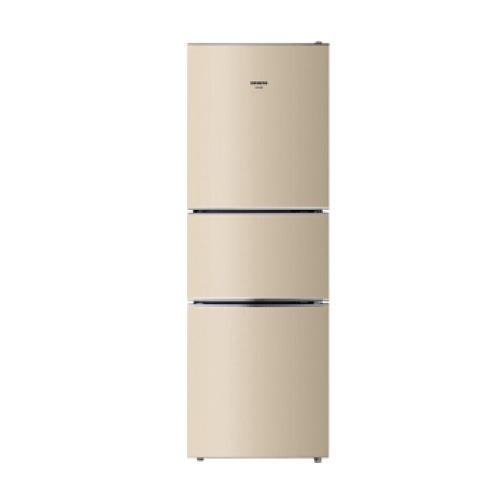 西门子(SIEMENS) KG23D113EW 三门冰箱 节能家用微霜多门冰箱232升(浅金色)