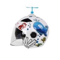 HNJ T68 儿童电动摩托车头盔