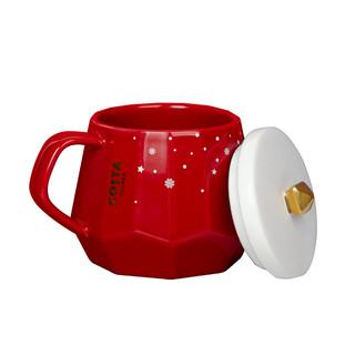costa马克杯女带盖北欧ins陶瓷杯浪漫星河少女心水杯圣诞款杯子女