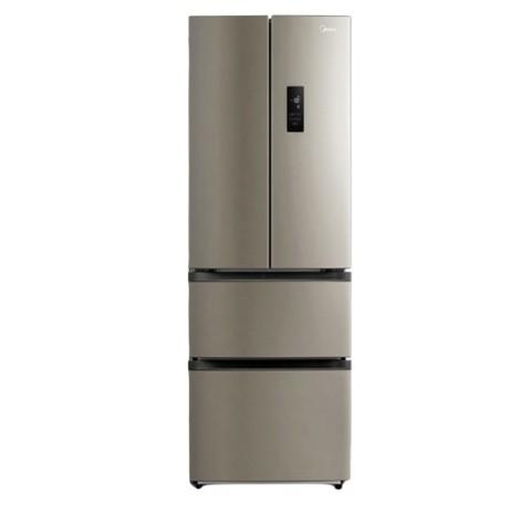 美的智能家电无霜冰箱四开门家用双开门对开门4三门双门冷 柜319L