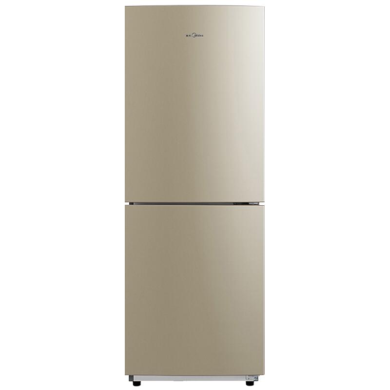 Midea 美的 BCD-207WM 风冷无霜双门冰箱 207L 芙蓉金