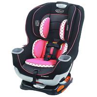 graco/葛莱 儿童汽车安全座椅 0-7岁Extend2Fit 粉色双向安装  LATCH接口